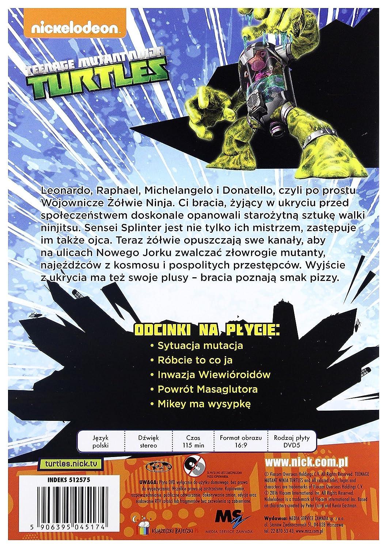 Teenage Mutant Ninja Turtles DVD Region 2 IMPORT No hay ...