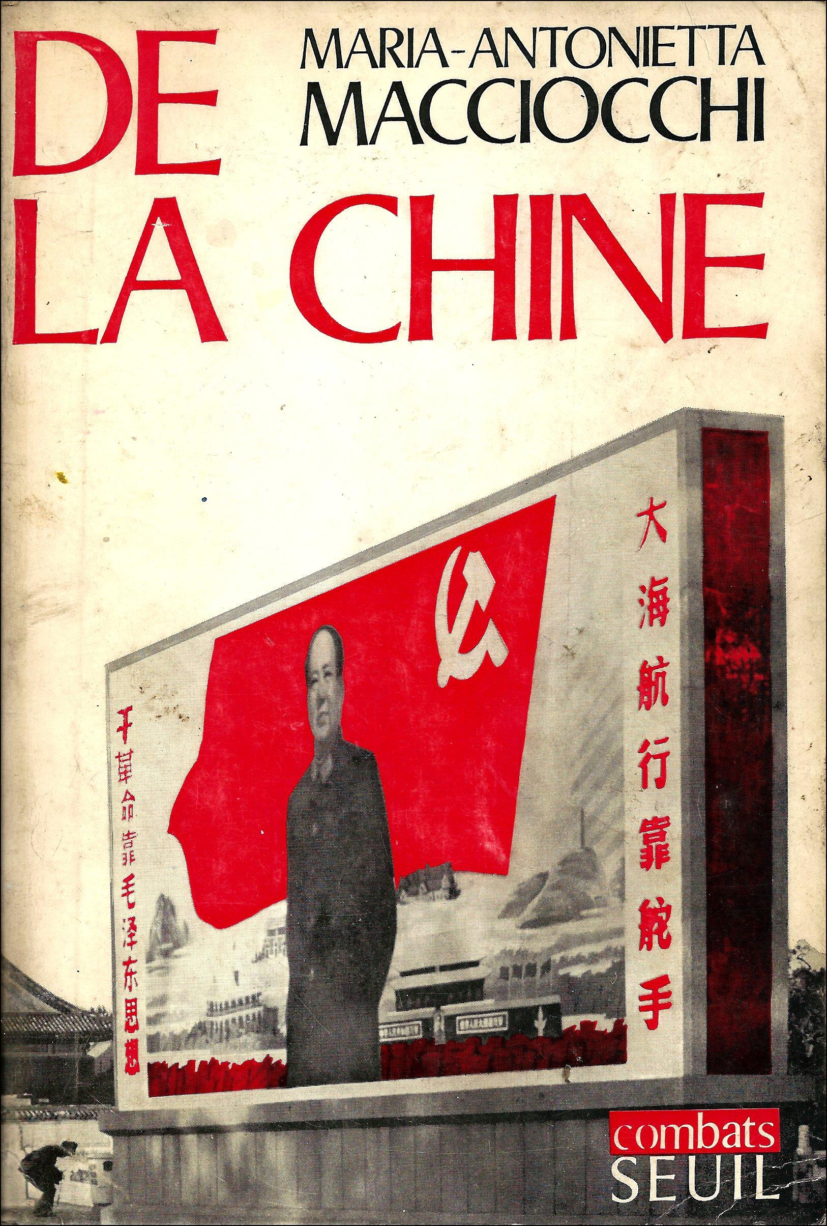 """Résultat de recherche d'images pour """"Marie-Antonietta Macciocchi De la Chine"""""""