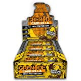 Grenade Carb Killa Banana Armour High Protein and Low Carb Bar, 12 x 60 g