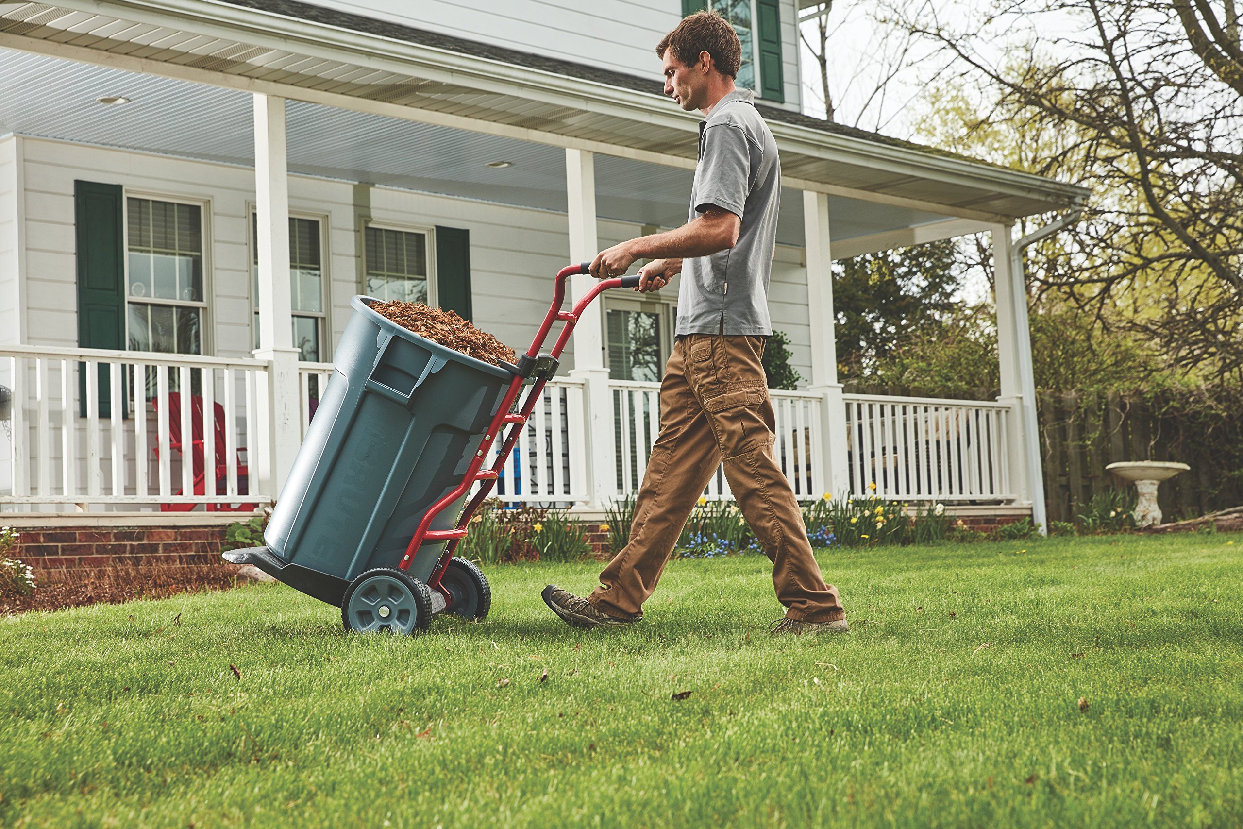 Rubbermaid Commercial Products Brute Construction and Landscape Dolly (1997410) by Rubbermaid Commercial Products (Image #12)