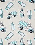 Leveret Kids Organic Cotton Milk Truck Baby Boys