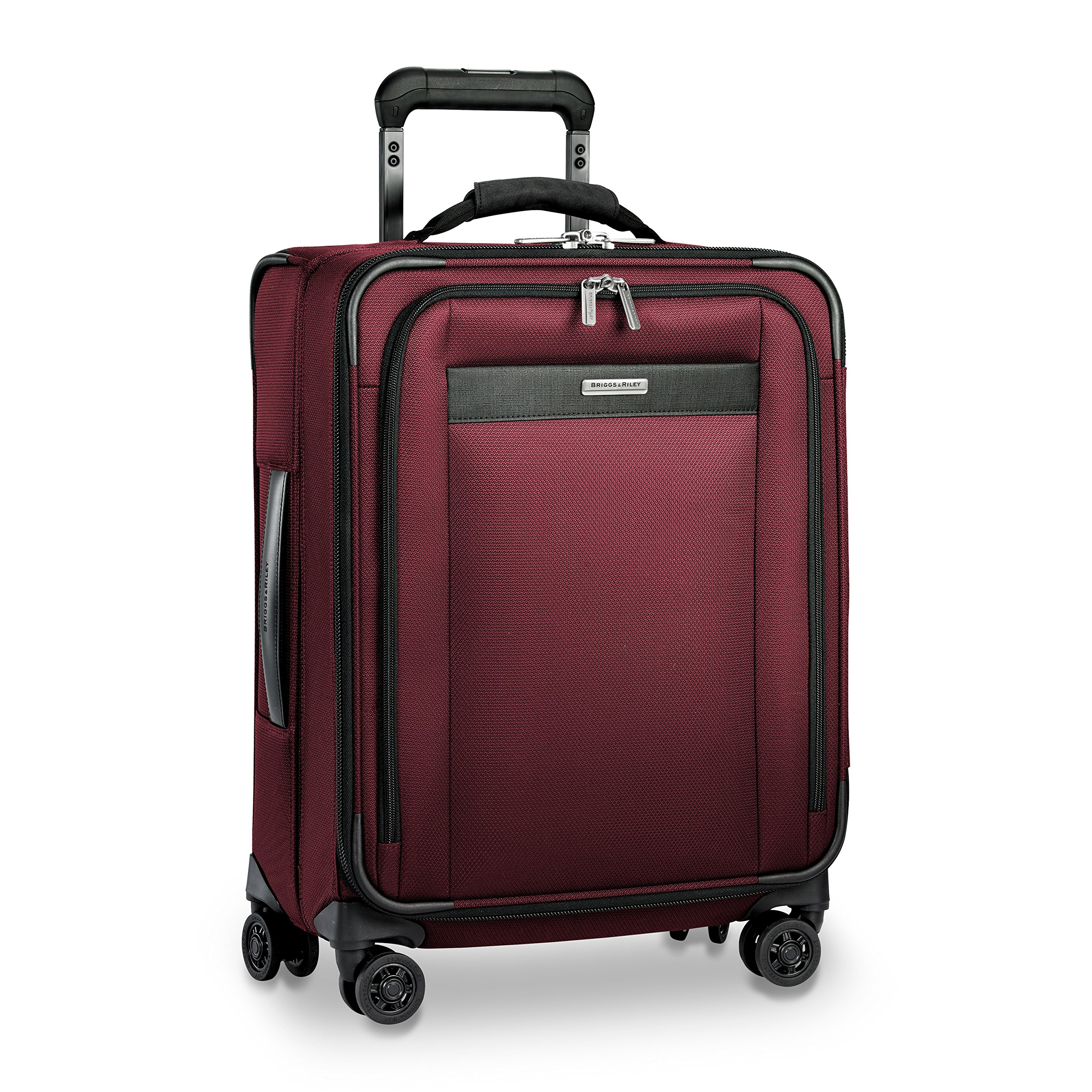 Briggs & Riley Transcend Wide Carry-on Expandable Spinner, Merlot