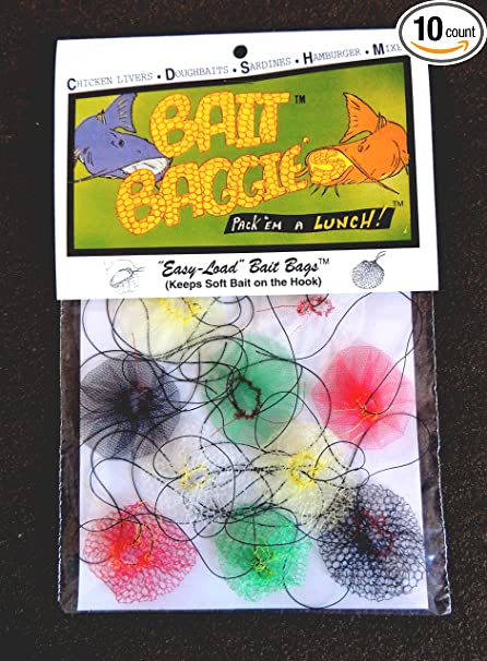 Amazon.com: anzuelo Baggies Easy-Load anzuelo bolsas ...