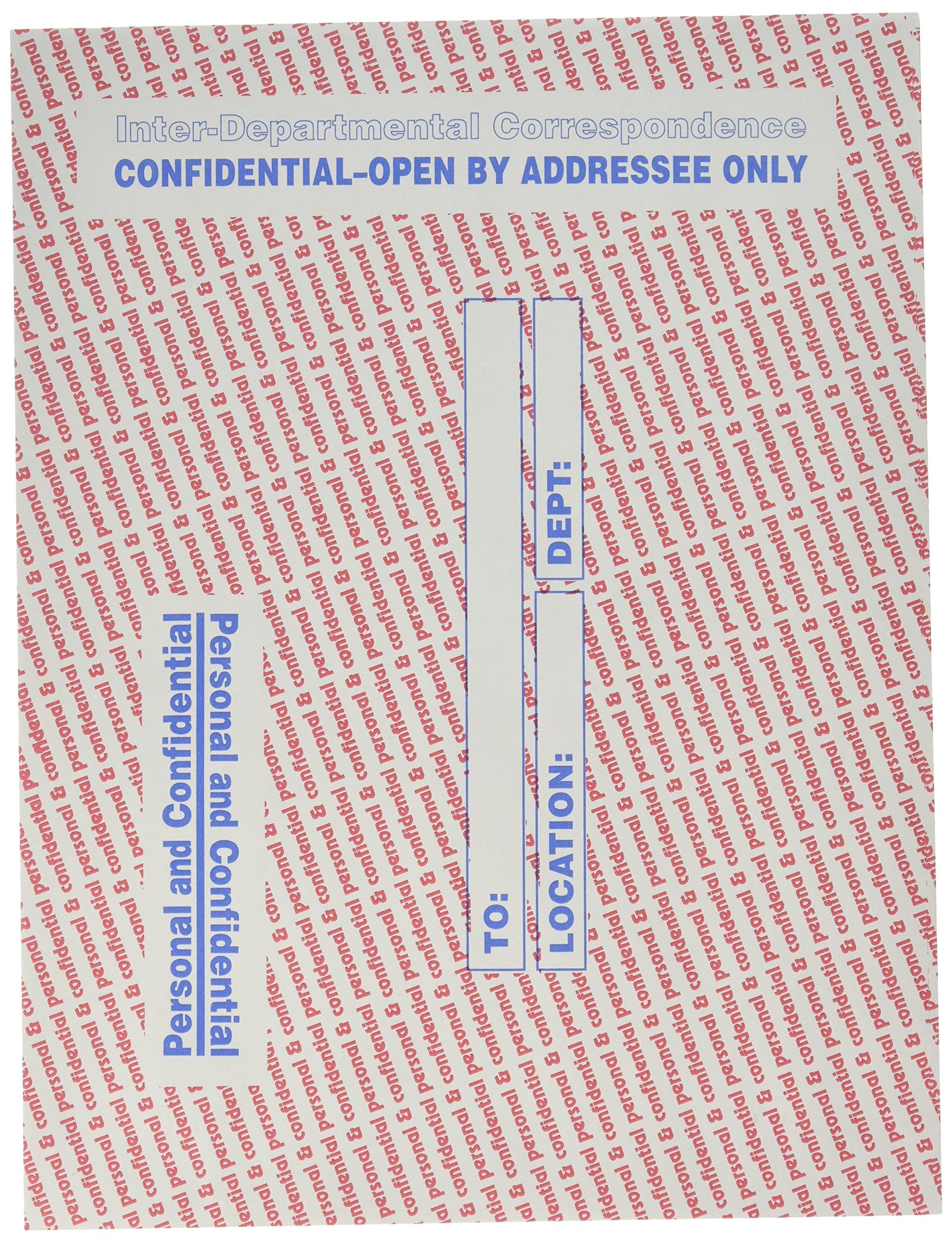 Quality Park Interdepartmental Envelopes, 10 x13, Gray, (QUA63778) 100 count.