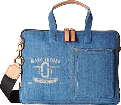Shoulder Bag for Women On Sale, Denim Blue, Fabric, 2017, one size Marc Jacobs
