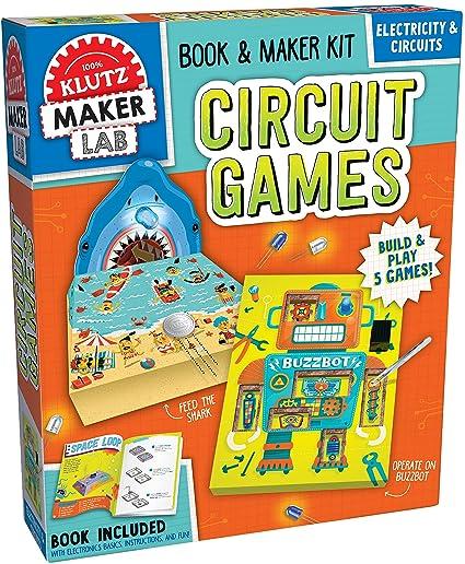 Peachy Amazon Com Klutz Maker Lab Circuit Kit Klutz Toys Games Wiring Digital Resources Operbouhousnl