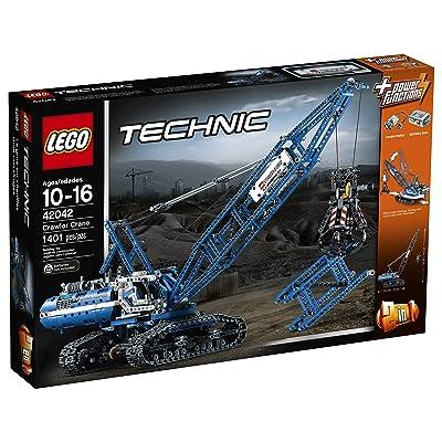 LEGO Technic 42042 Crawler Crane: Toys & Games