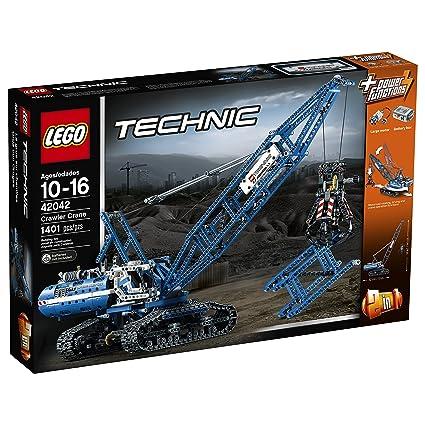 Amazoncom Lego Technic 42042 Crawler Crane Toys Games