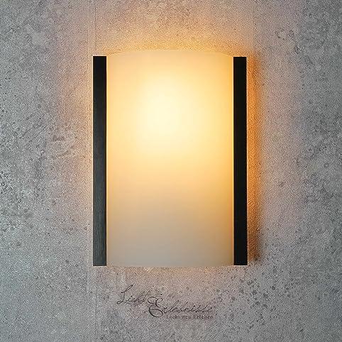 Wandleuchte Klassisch Braun Weiss 1 Flammig E14 Bis 60W 230V Lampe