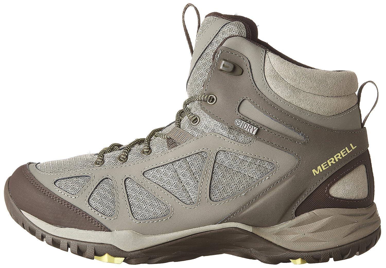 Merrell Women's Siren Sport Q2 Mid Waterproof Hiking Boot B01HFQ9YMG 7.5 B(M) US|Dusty Olive