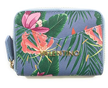 Monedero Valentino Atlantic 11x9x2 cm (Azul): Amazon.es ...