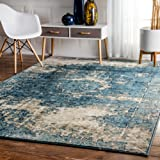 """Amazon Price History for:nuLOOM Lindsy Rug, Blue, 5' 11"""" x 9'"""