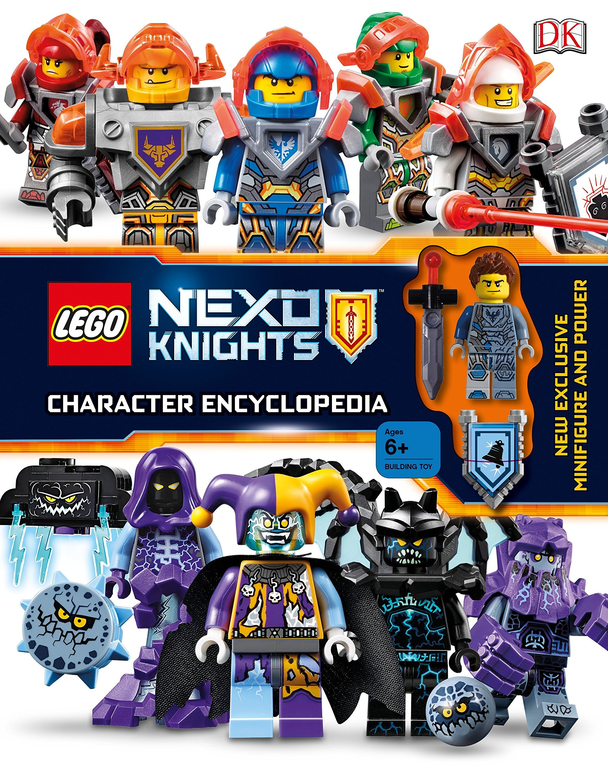 Pick yours Lance Clay Stone Giant Molto Original LEGO Nexo Knights minifigure