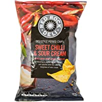 Red Rock Deli Sweet Chilli and Sour Cream Potato Chips, 165g