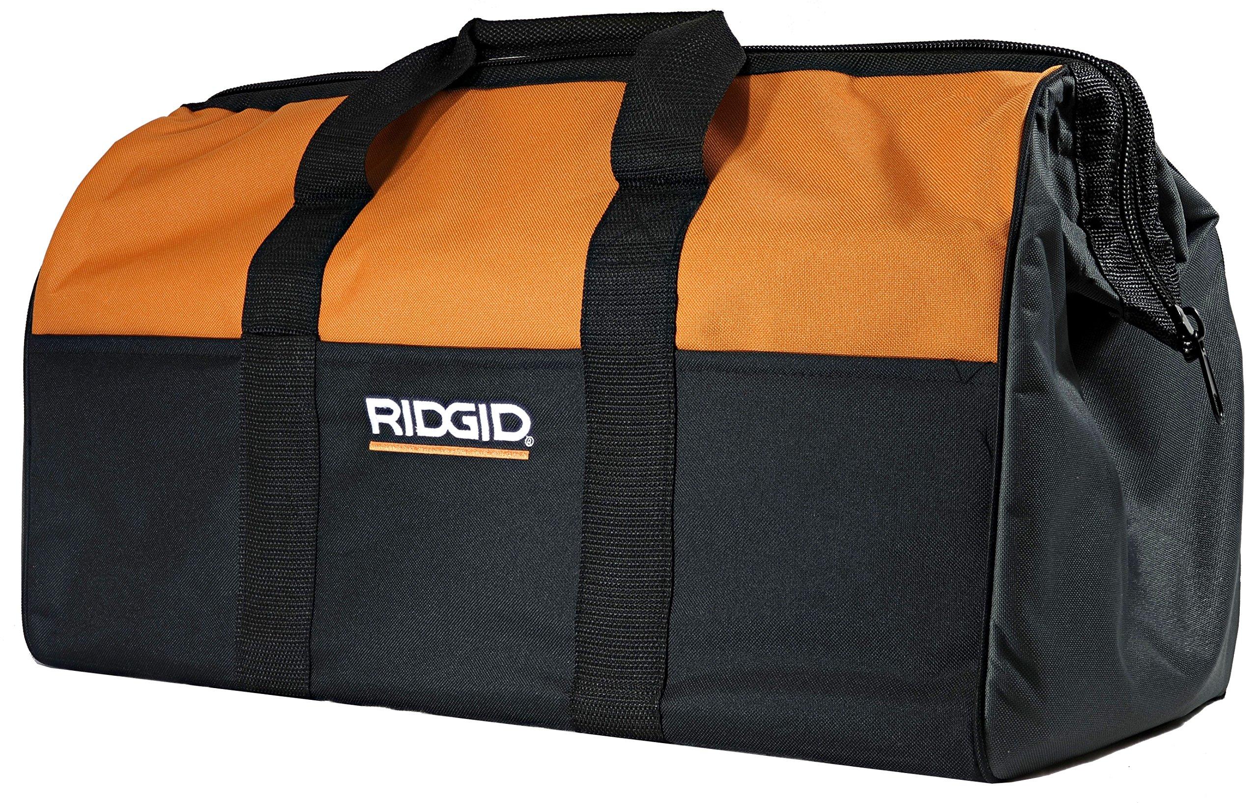 "Ridgid Genuine OEM Canvas Power Tool Contractor's Bag (22"" x 11"" x 10"")"