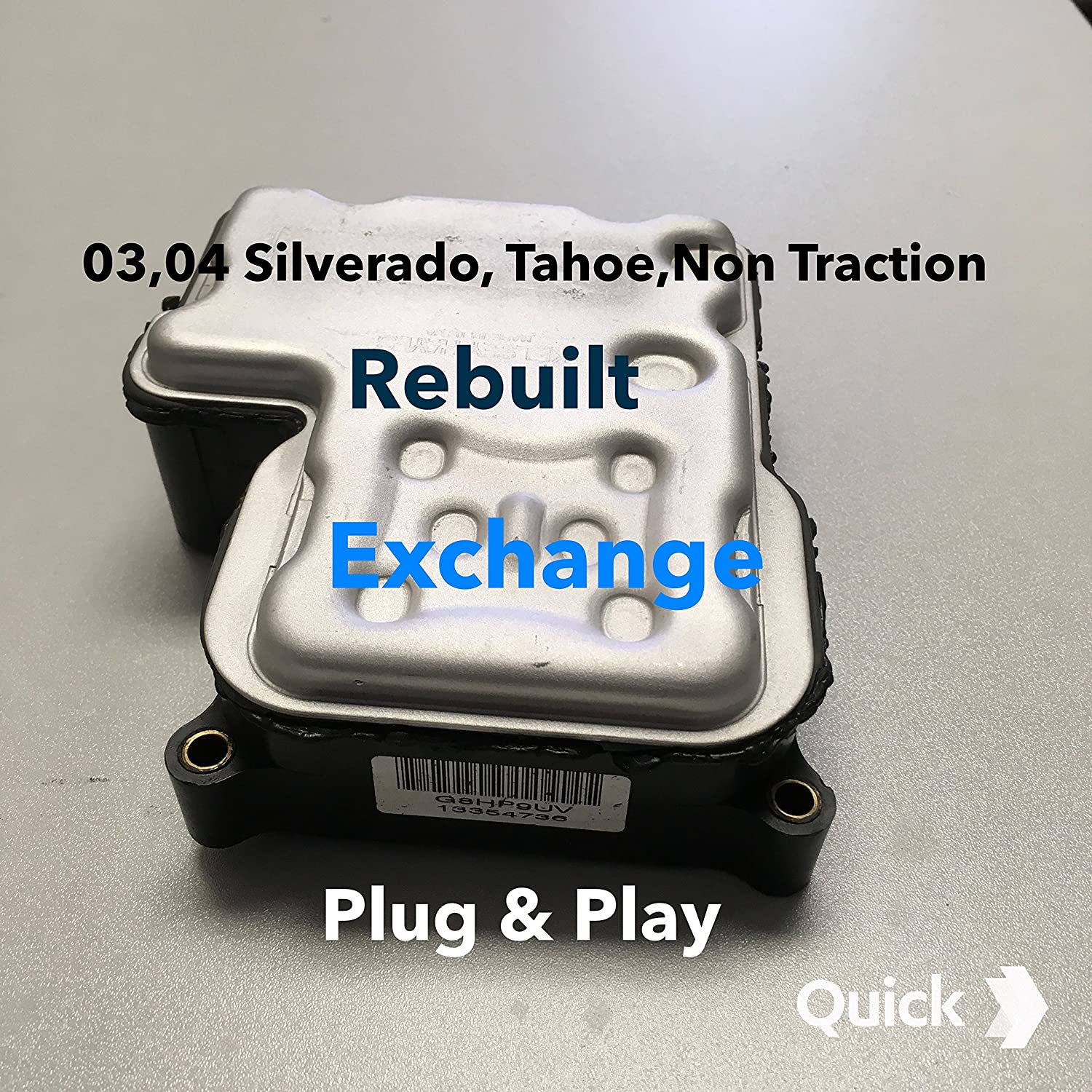 SUBURBAN 1500 YUKON WITH TRACTION REBUILT ABS MODULE 00 01 02 TAHOE