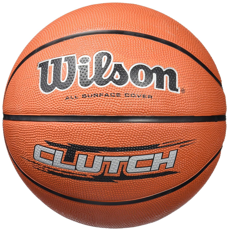 Wilson Clutch Baló n, Unisex, marró n, 7 marrón Wilson Teamsport WTB1434XB