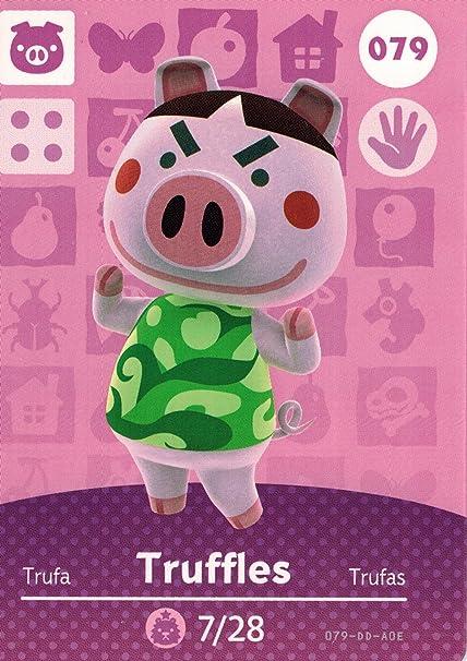 Amazon.com: Animal Crossing 079/100 Amiibo - Tarjeta de ...