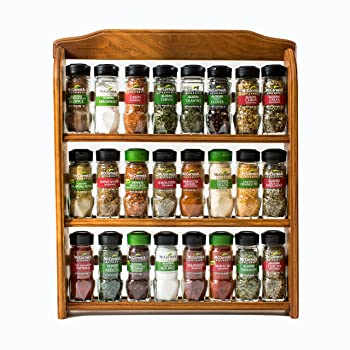 McCormick Gourmet Wood Spice Rack