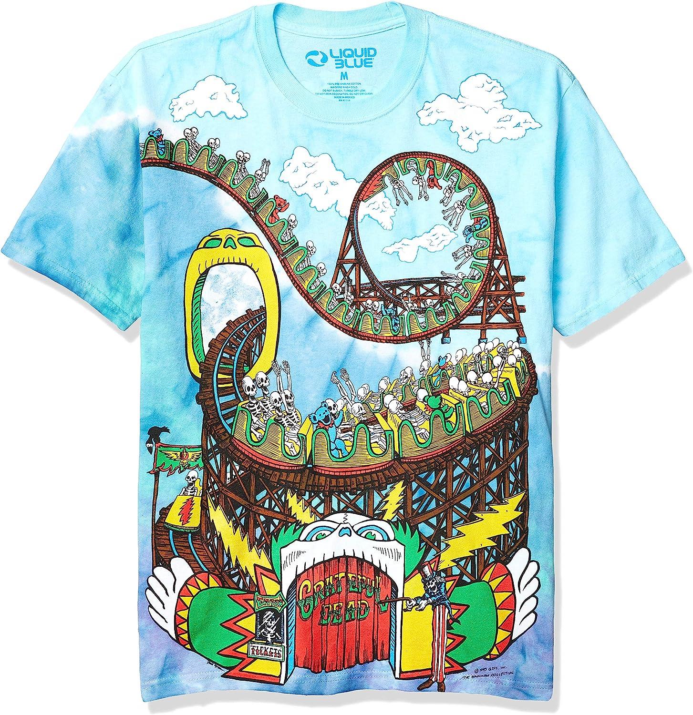 Liquid Blue Men's Grateful Dead-Amusement Park