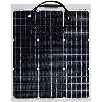 enjoysolar ETFE - Módulo solar semiflexible PERC celdas Solarpanel Marine Wohnmobil Yacht Boot (50 W)