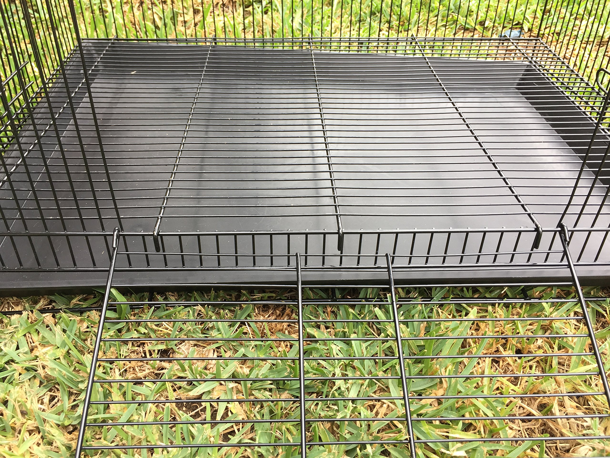 NEW 3 Levels Ferret Chinchilla Sugar Glider Rats Animal Cage 24''Length x 16''Depth x 24''HeightBlack