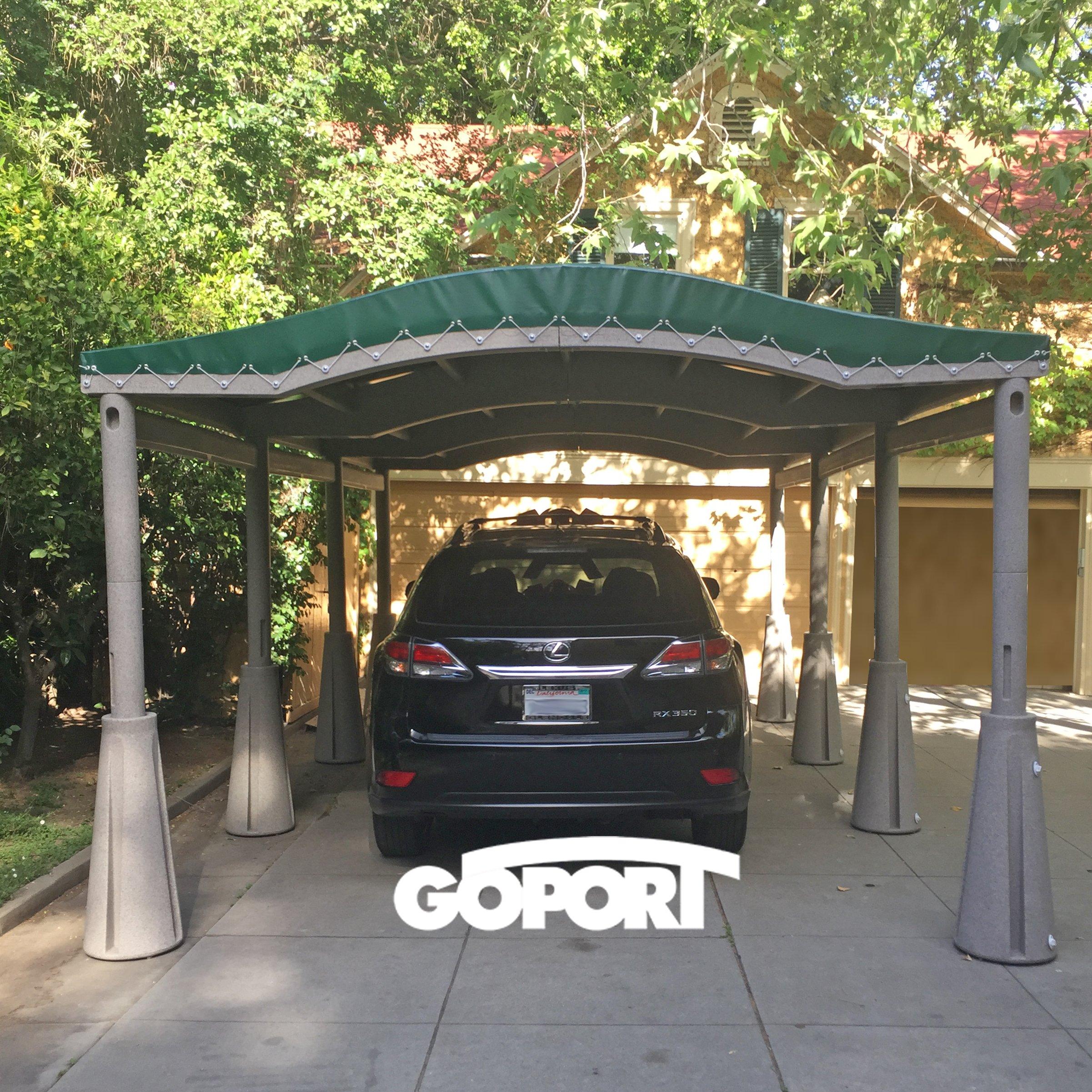 GoPort Portable Carport - Outdoor Shelter