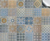 """Tp60 - 6"""" Sample Pack of 2 - Printed in 2D Kitchen / Bathroom Tile STICKERS For 150mm (6 inch) Square Tiles – Directly From: TILE STYLE DECALS, No Middleman (6"""" - Sample of 2 stickers)"""