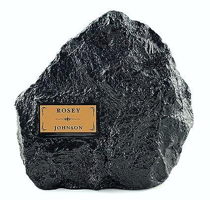 LovedPet Granite Garden Rock Pet Cremation Urn, Large