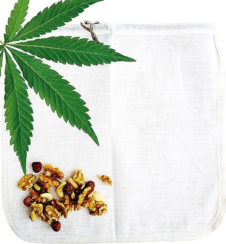 Cáñamo bolsa para leche vegetal Ecocasa - la alternativa ecológica ...