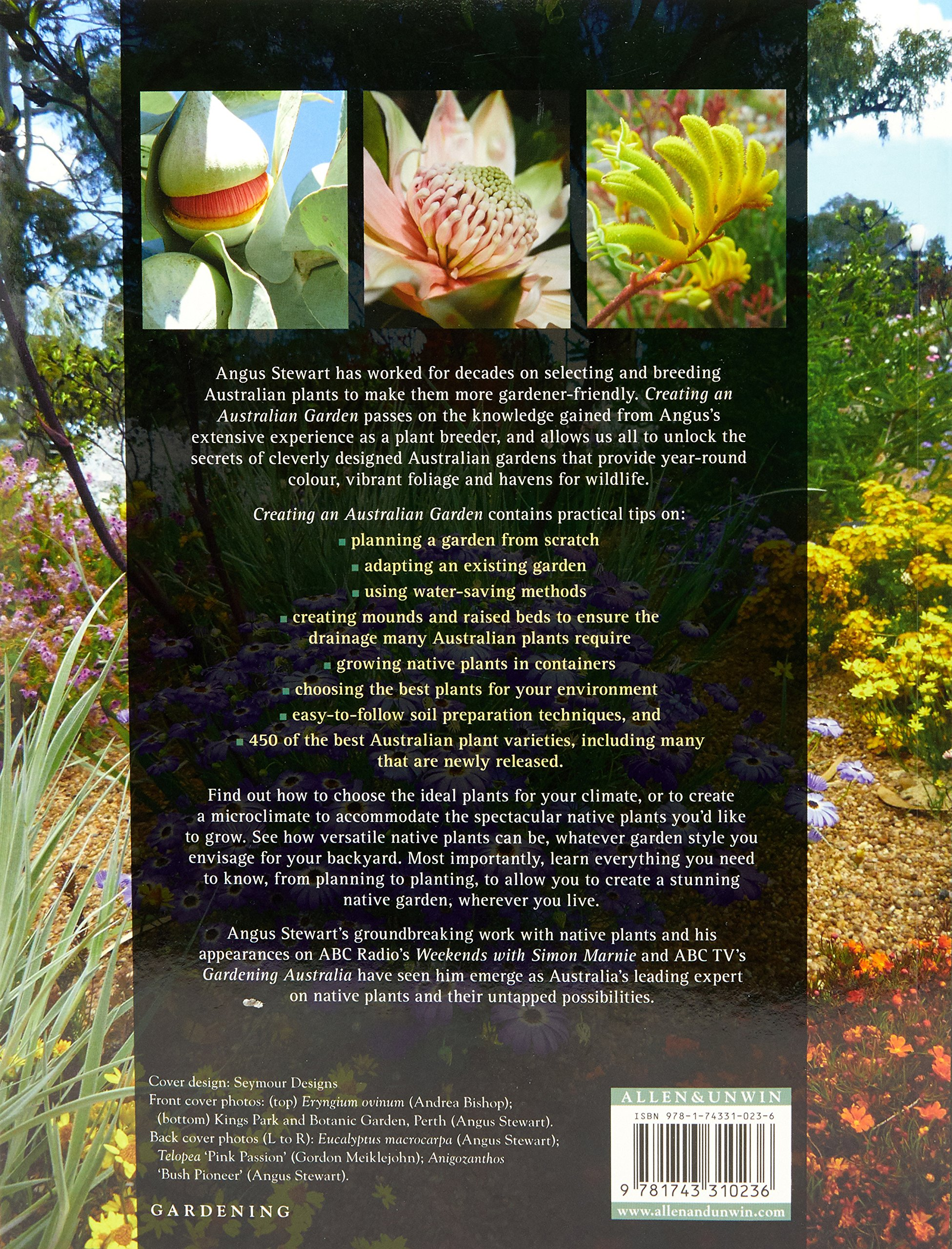 Creating An Australian Garden Stewart Angus 9781743310236 Amazon Com Books
