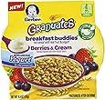 Gerber Graduates Breakfast Buddies Cereal, Berries Cream