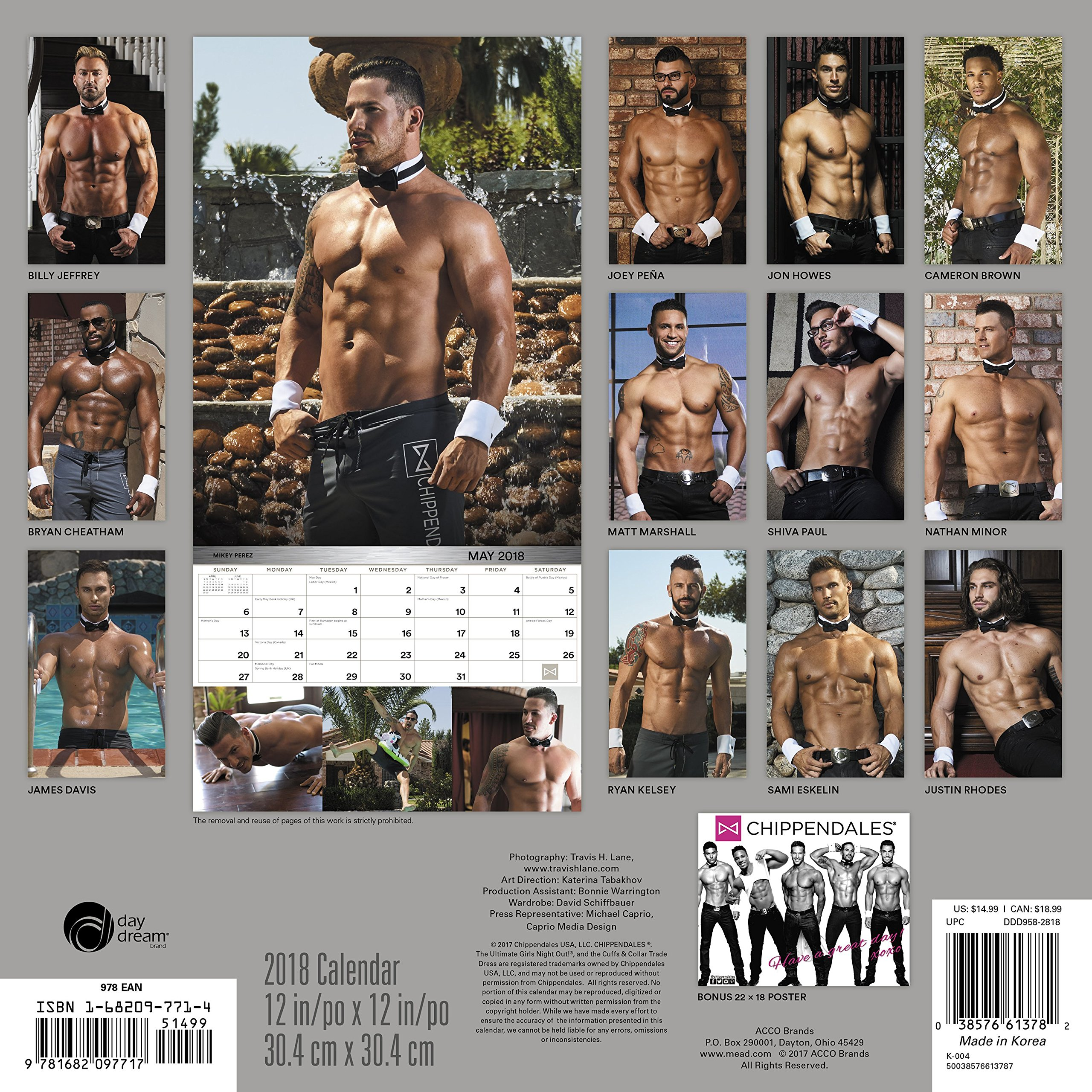Opinion useful nude chippendales calendar casually
