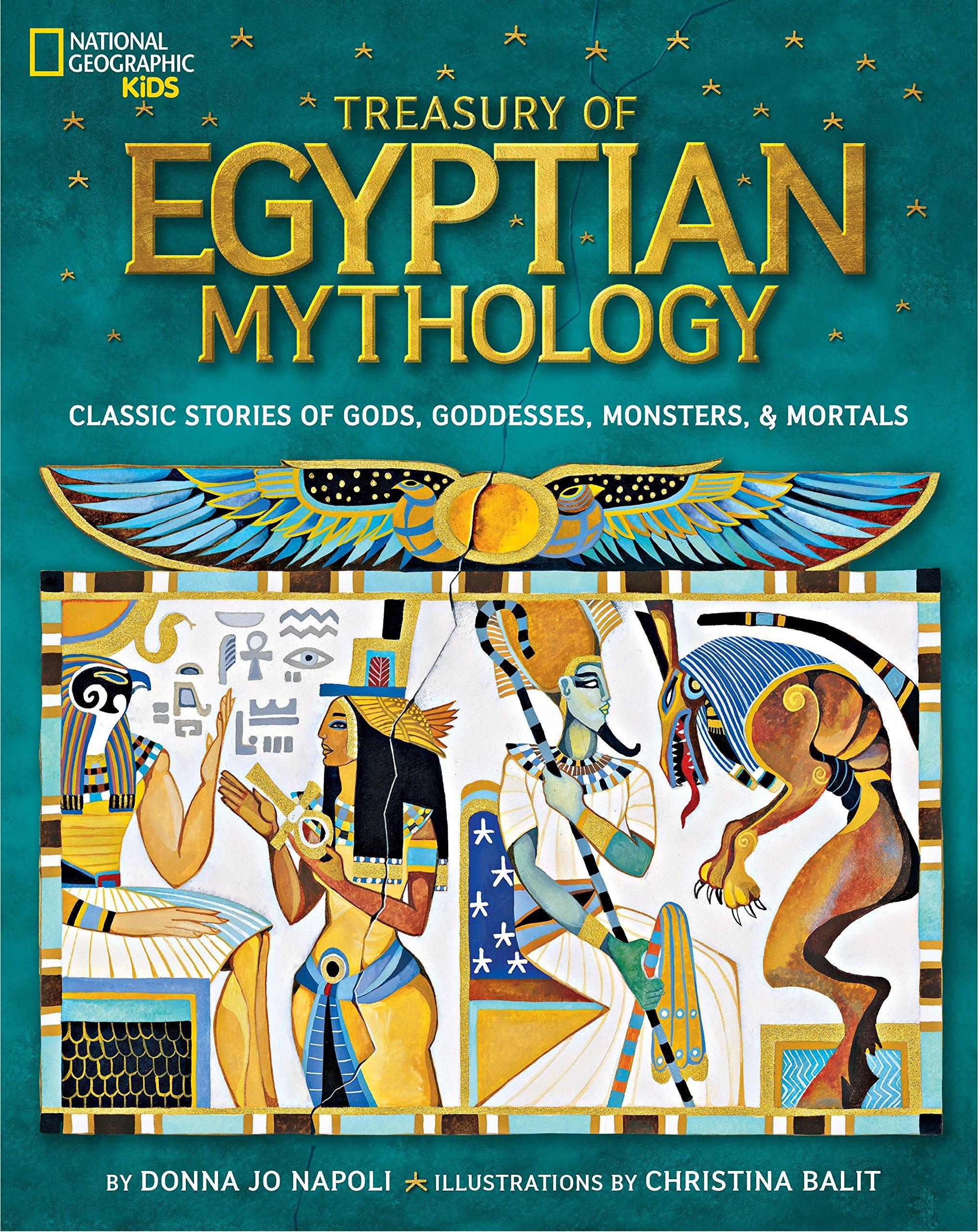 Treasury Egyptian Mythology Goddesses Geographic product image
