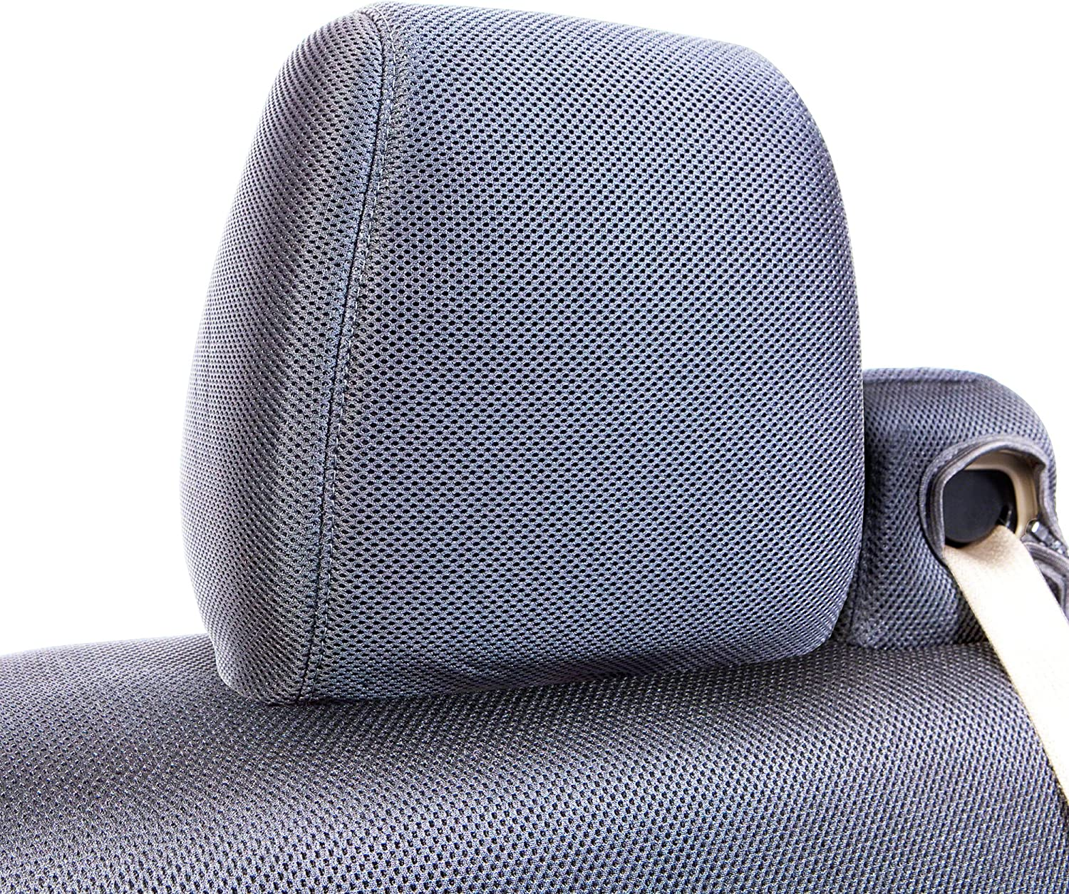 for Select Ford Truck F-250//350 Black 1 Row Models Super Duty Mesh Solid Coverking Custom Fit Molded Seat Cover