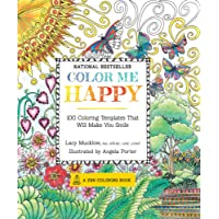 Color Me Happy: 100 Coloring Templates That Will Make You Smile
