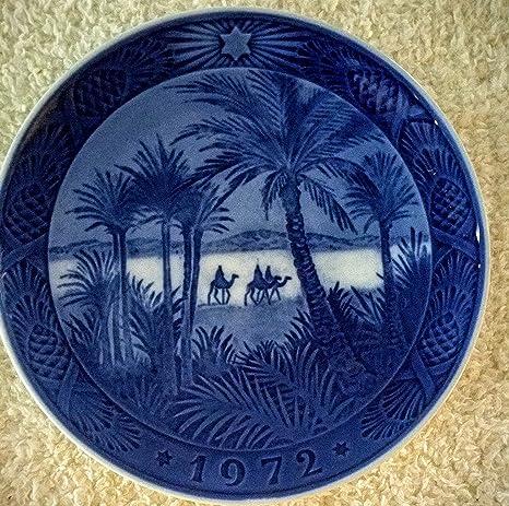 Royal Copenhagen 1972 Christmas Plate
