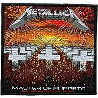 Metallica parche – Master Of Puppets – Metallica Patch – tejida & licencia oficial.