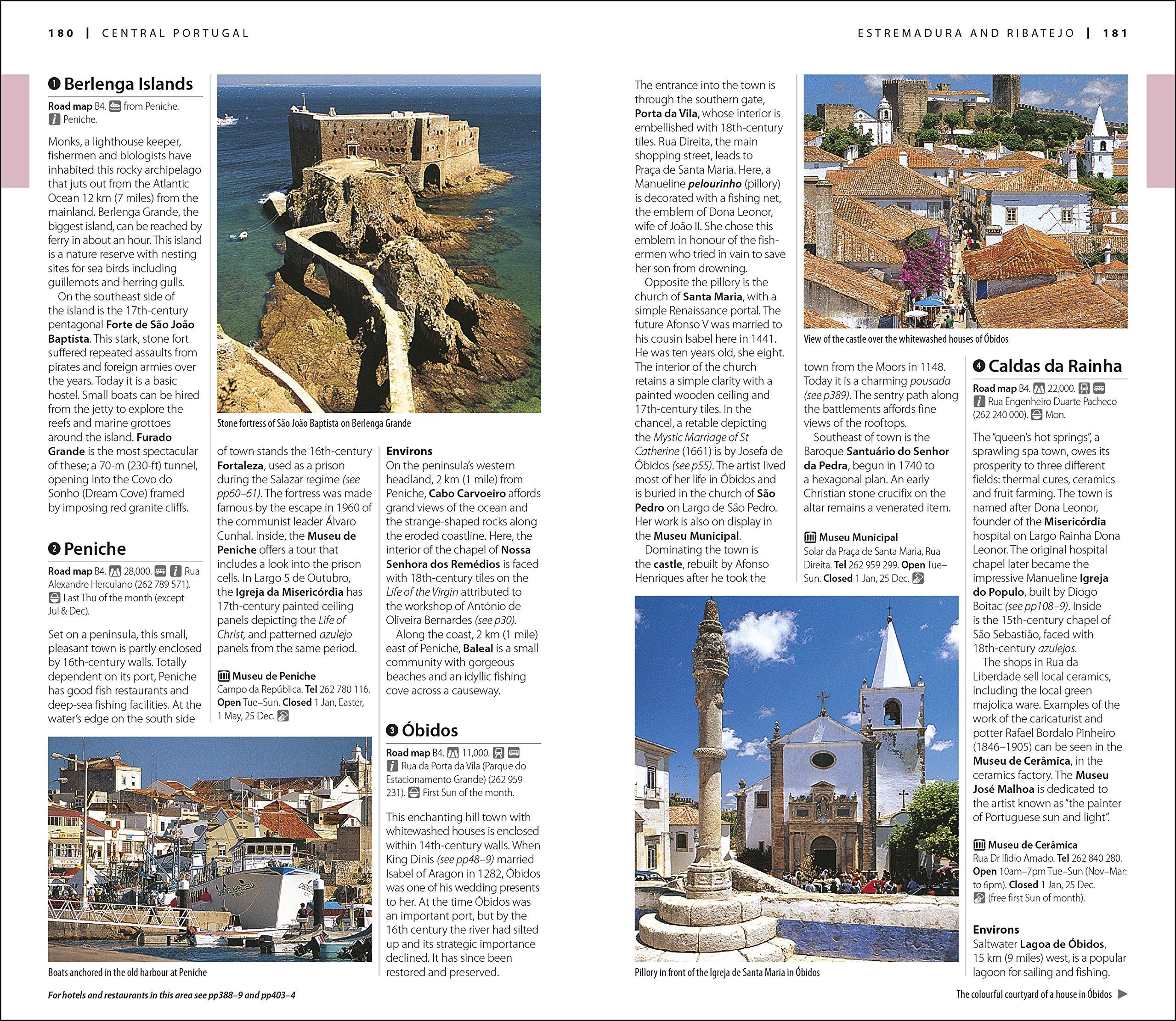 Dk Eyewitness Travel Guide Portugal Pousadas Of Touring Unlimited Estrelas 9781465469045 Books