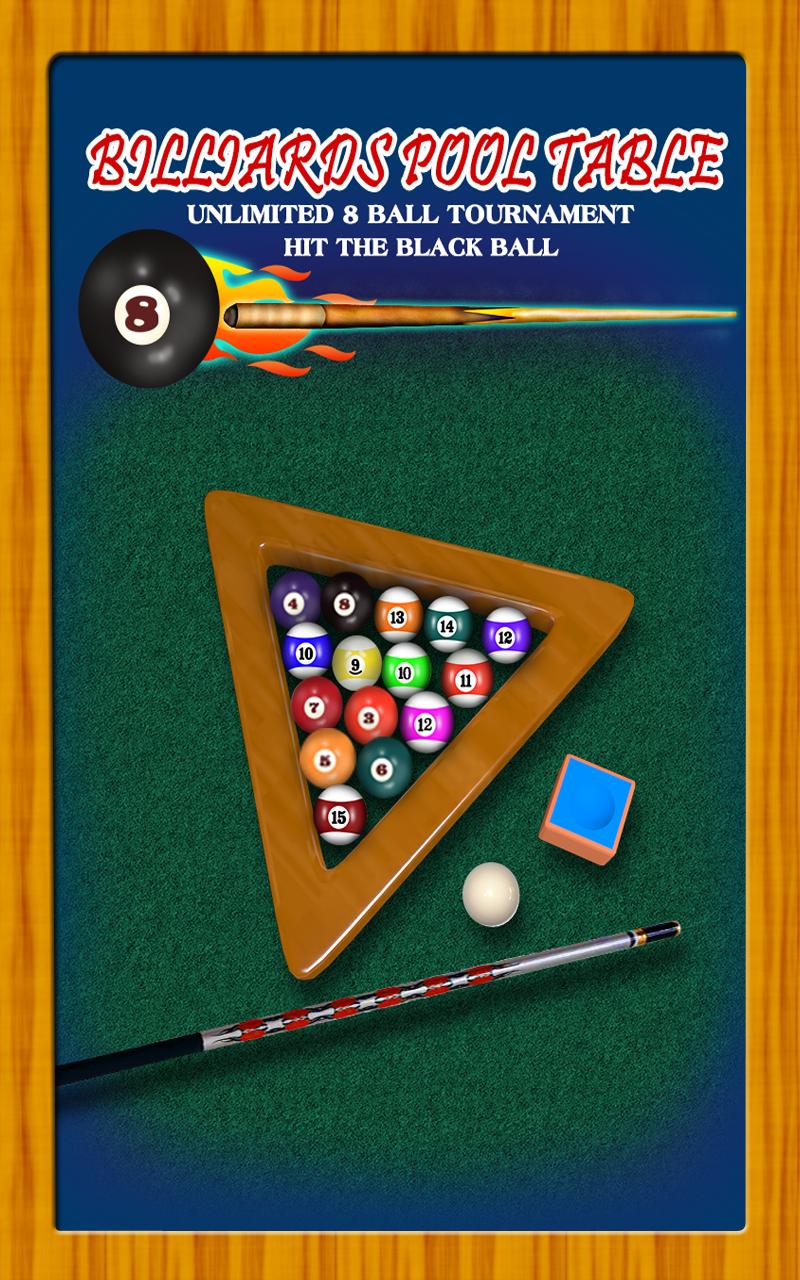 mesa de billar pool ilimitado torneo 8-ball: golpear la pelota negro - edición gratuita: Amazon.es: Amazon.es