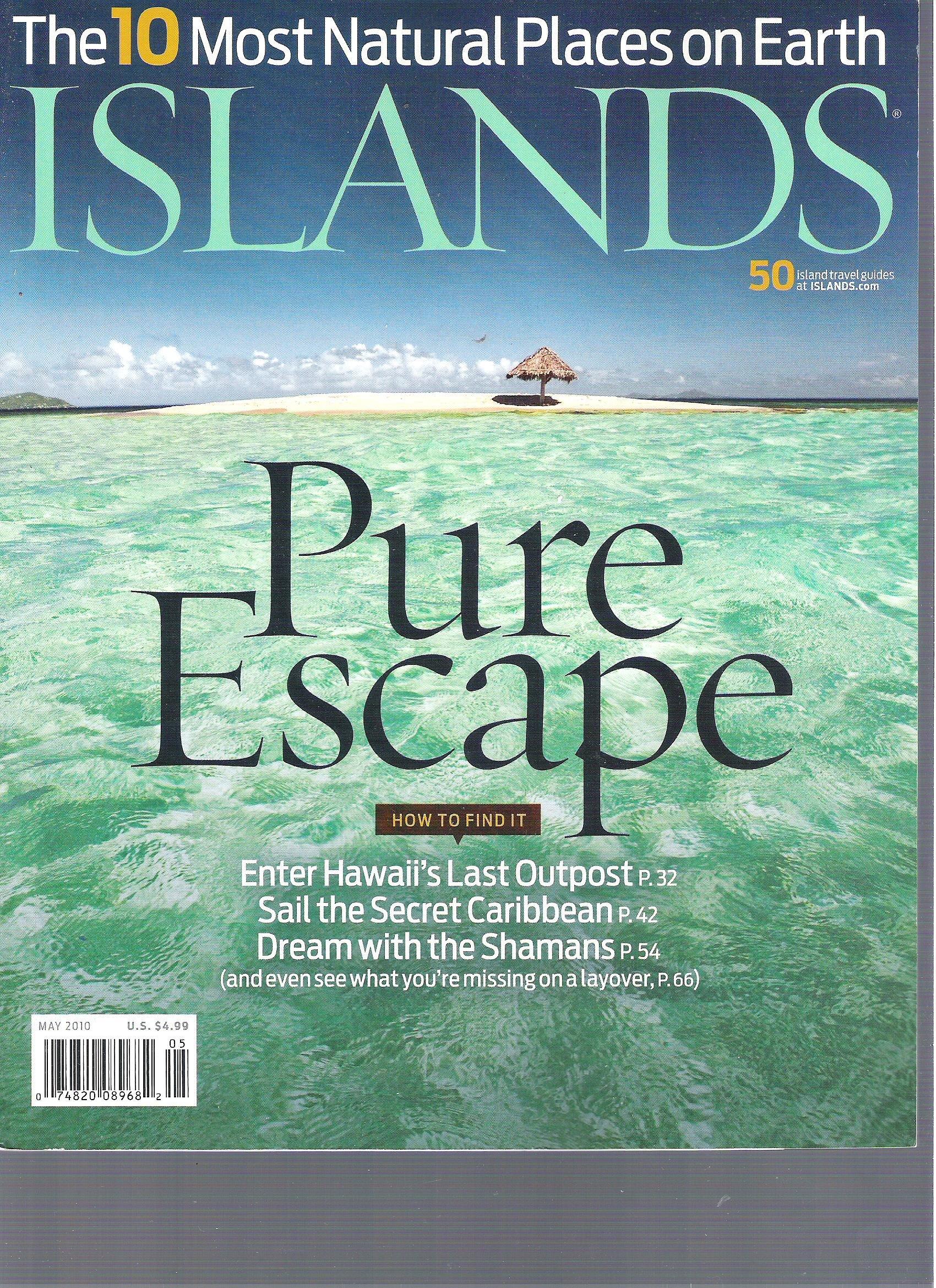 Islands Magazine (Pure escape, May 2010) pdf epub