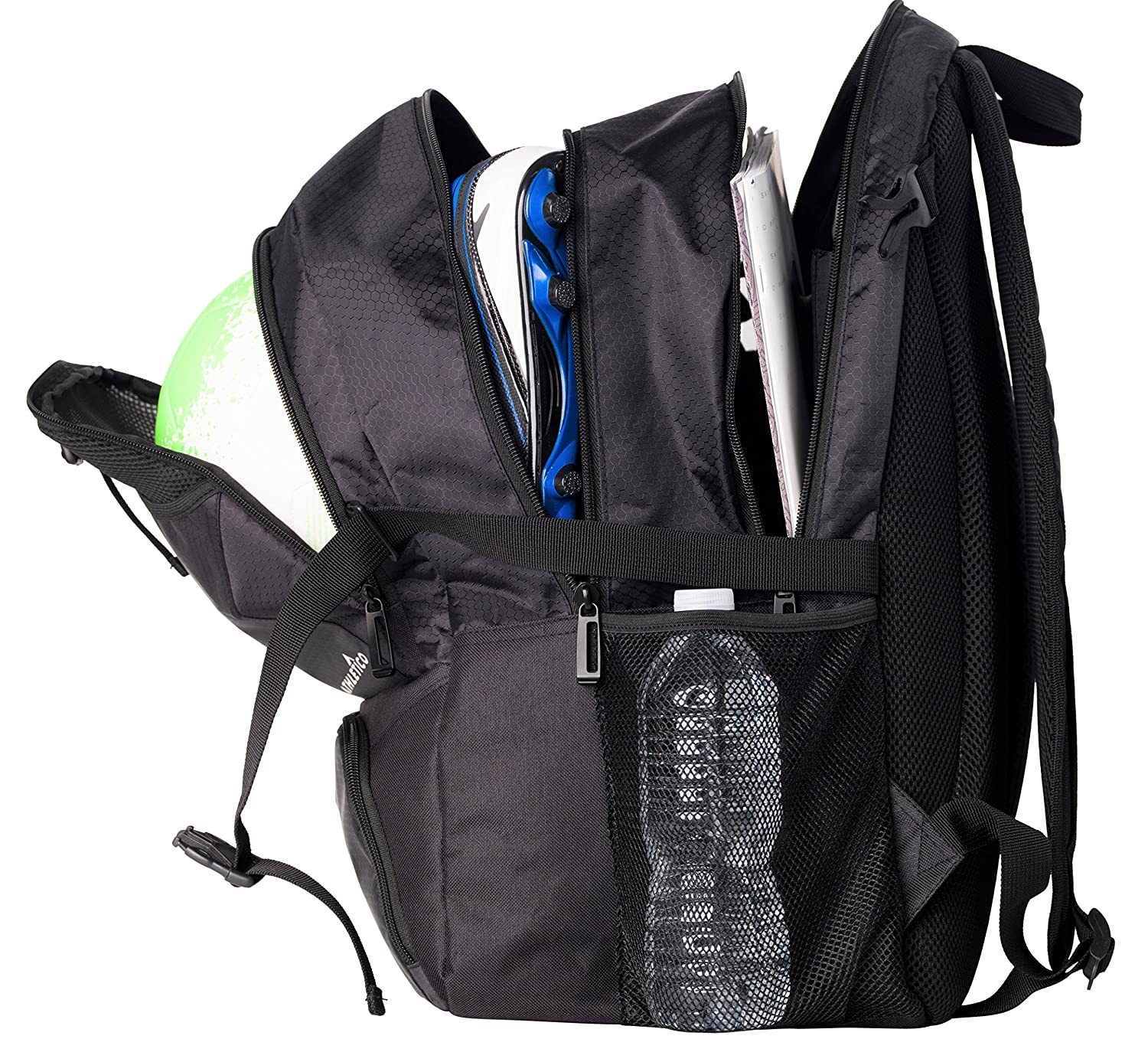 d0579b512a47 Youth Soccer Backpack With Ball Holder- Fenix Toulouse Handball