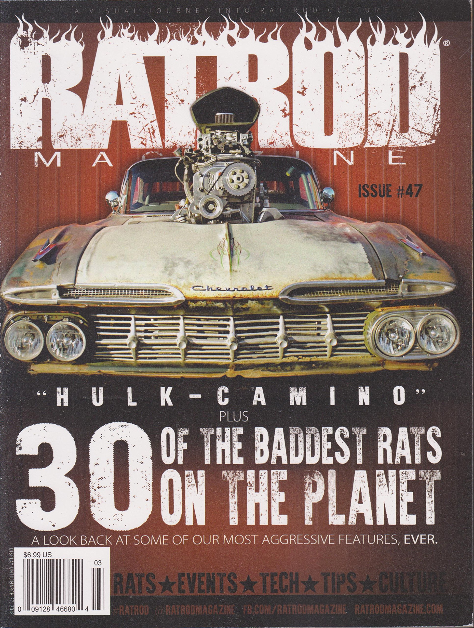 Read Online Rat Rod Magazine Issue 47 February/March 2018 PDF