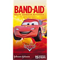 Band-Aid Character Strips Cars 15 Count