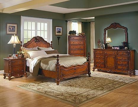 mousasgallery Lusso Camera da letto set - in legno massiccio ...