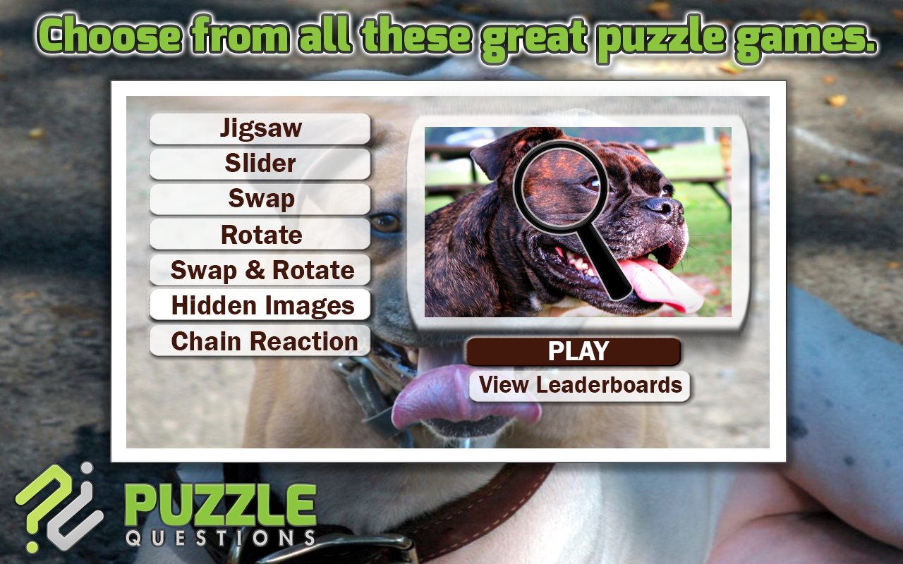 Amazon com: Pitbulls Dogs Jigsaw Puzzle Games: Appstore for