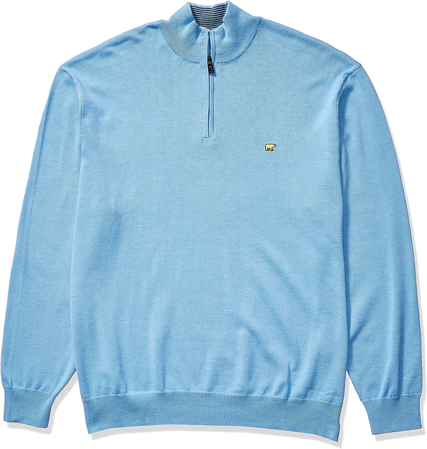 Jack Nicklaus Mens 1//4 Zip Long Sleeve Sweater