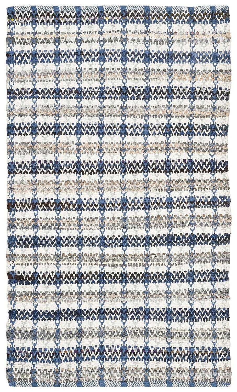 Safavieh Montauk Collection MTK950B Blue and Multi Area Rug 26 x 4