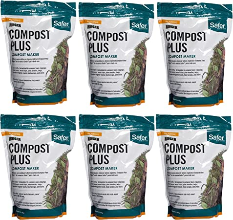 Amazon.com: Safer Ringer Plus-Compost Starter Kit Brand ...