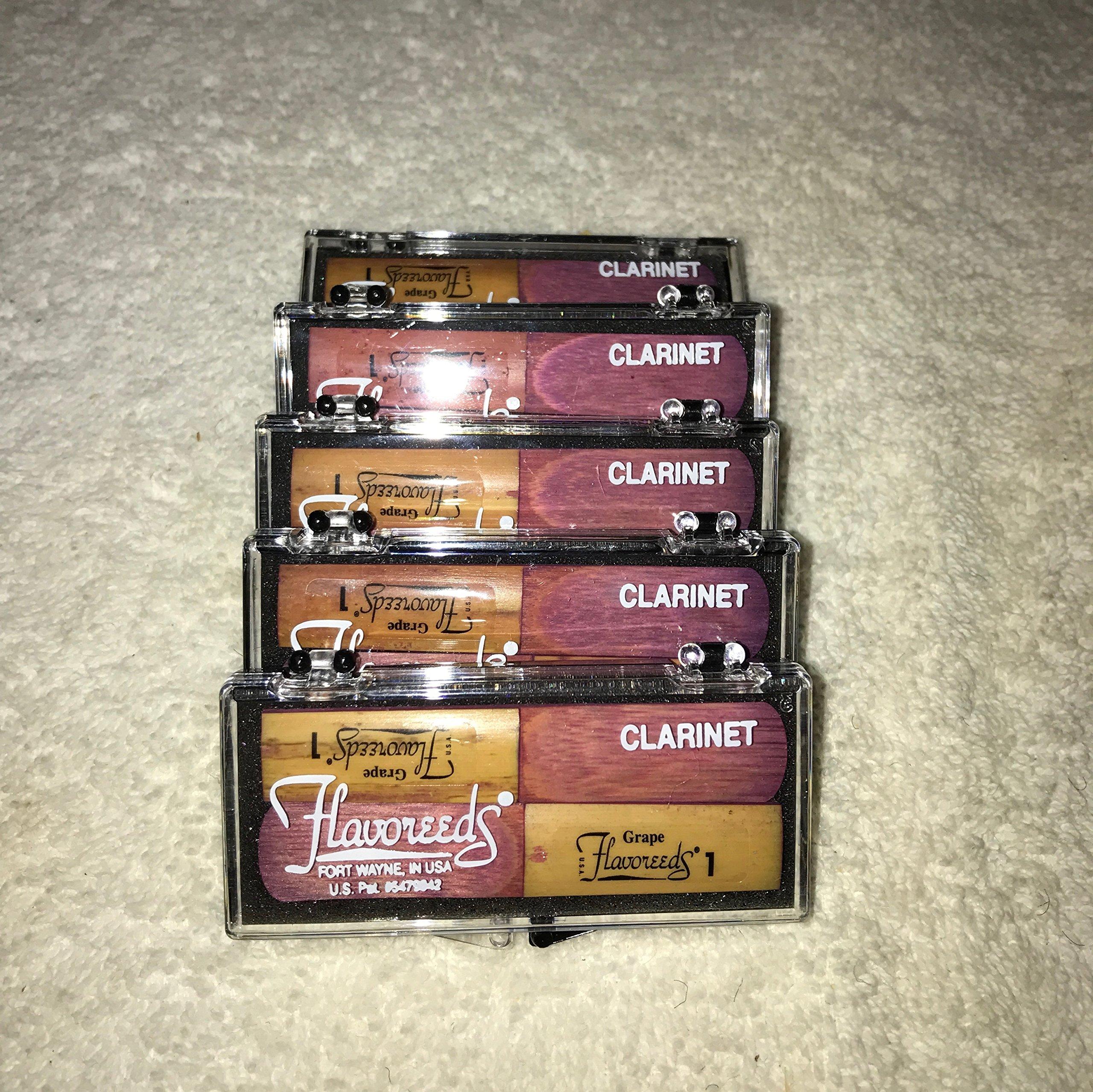Flavoreeds - #1 Str. Clarinet - Grape - Twinpak(5)
